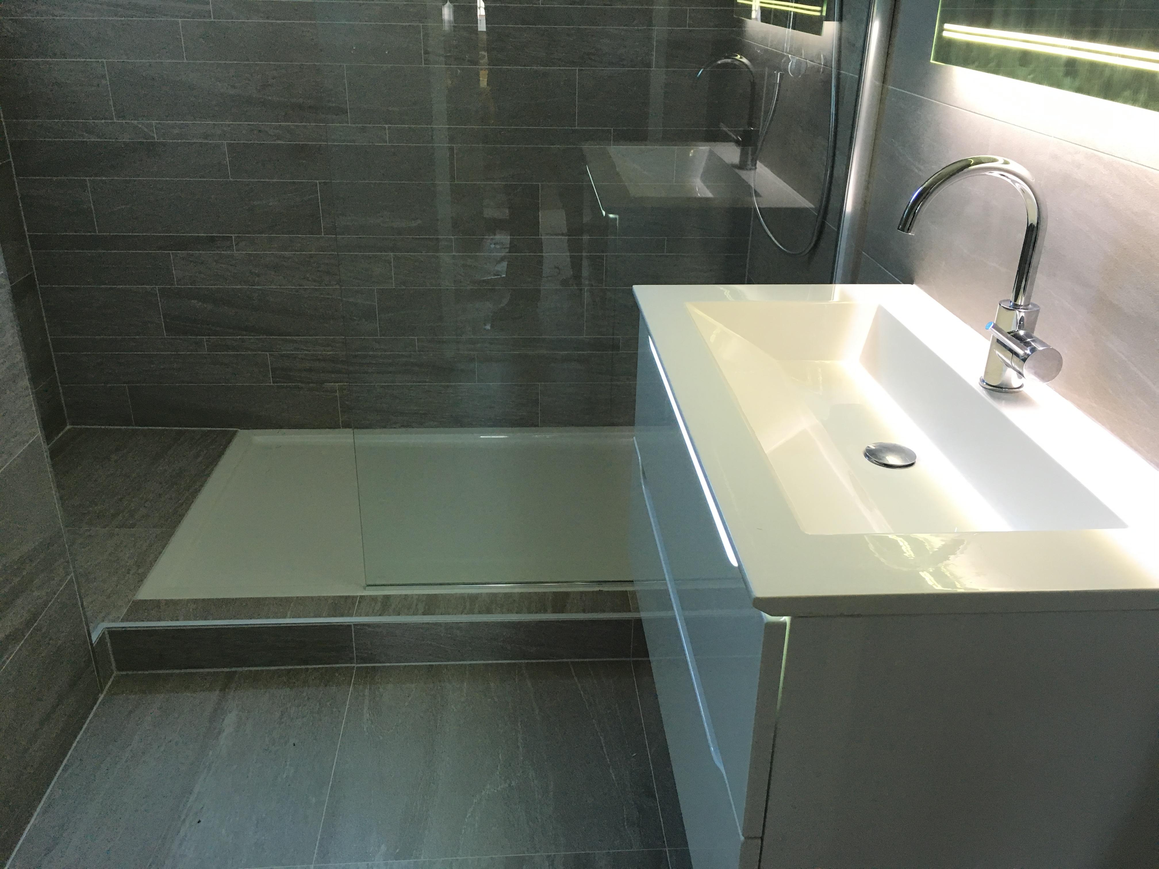 Badkamer Geel-groenlaan, Zoetermeer